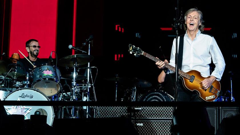 Paul McCartney cierra gira mundial en Los Ángeles con Ringo Starr
