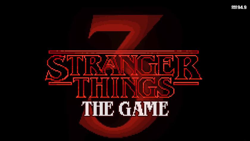 ¡Stranger Things 3 salta a los videojuegos y lo hace al estilo retro!