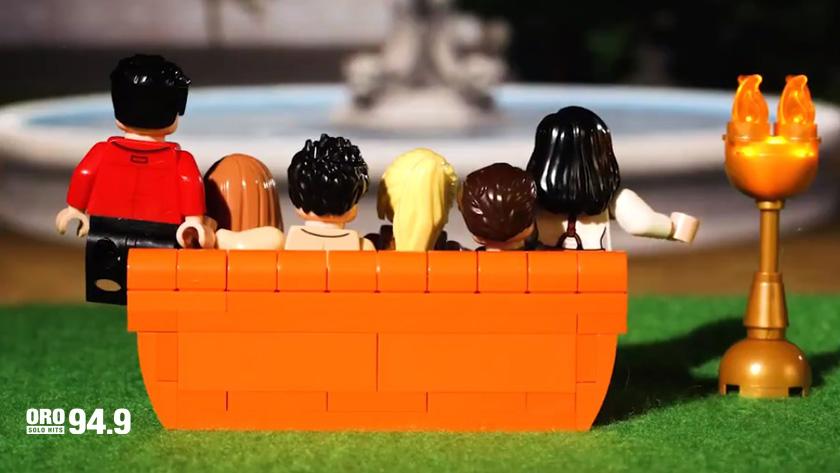 Lego festejará 25 años de la serie Friends con un set especial