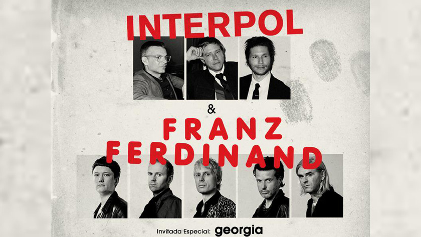 Interpol y Franz Ferdinand confirman dos conciertos más en México