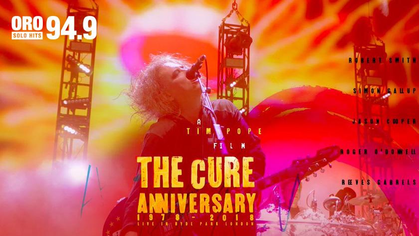 """The Cure-Anniversary 1978-2018 Live in Hyde Park London"" se estrena hoy en México"