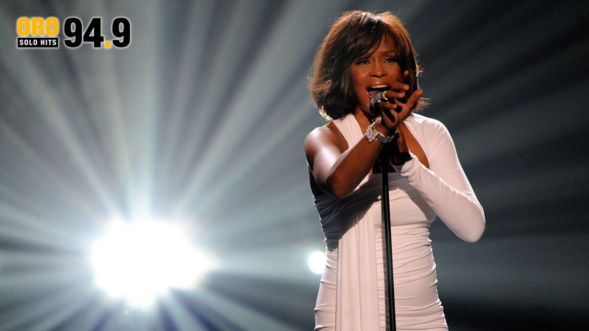 Oro Hits Legends; Whitney Houston