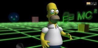 """Esto dice es el mensaje oculto que aparece en el capítulo 3D de """"Los Simpson"""""""